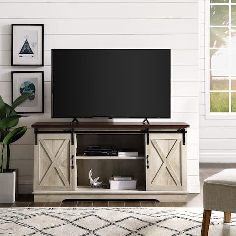 The Gray Barn Wind Gap 58 Sliding Door Tv Console