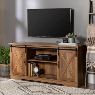 Buy Brown 42 60 Inches Tv Stands Amp Entertainment