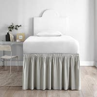 Twin XL 30-inch Drop 3 Panel Bed Skirt