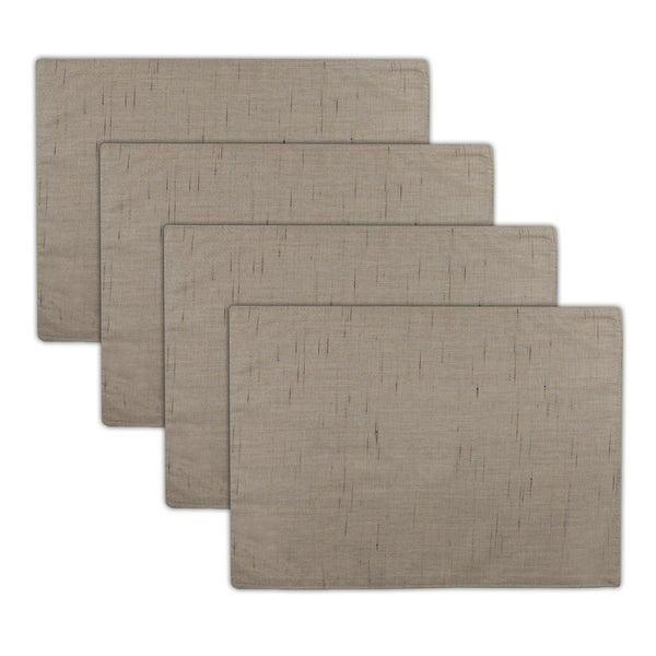 Austin Horn Classics Sunbrella Frequency Sand Reversible Placemat (set of 4) - 18 x 12.5