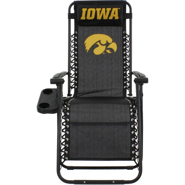 Amazing Shop Iowa Hawkeyes Zero Gravity Chair Free Shipping Today Beatyapartments Chair Design Images Beatyapartmentscom