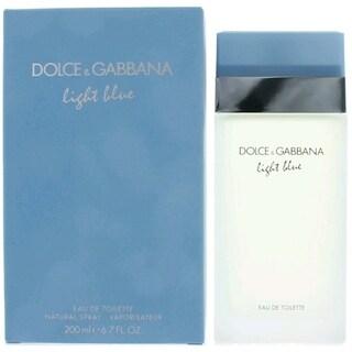 Light Blue by Dolce & Gabbana Women's 6.7-ounce Eau de Toilette Spray