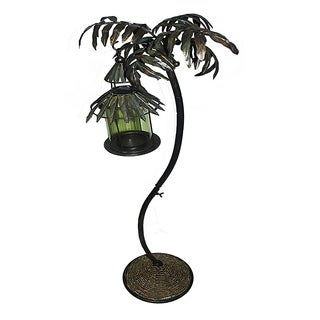 Essential Décor & Beyond Tree Metal Hanging Candle Lantern GL77120