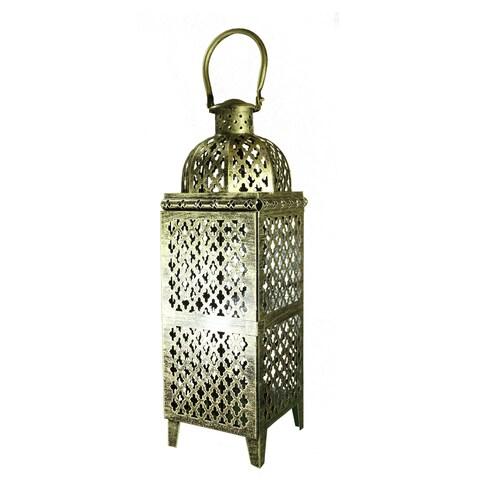 Essential Décor & Beyond Multicolored Metal Lantern EN112932