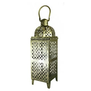 Essential Décor & Beyond Multicolored Metal Lantern EN112932