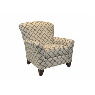 Calista Quatrefoil Arm Chair