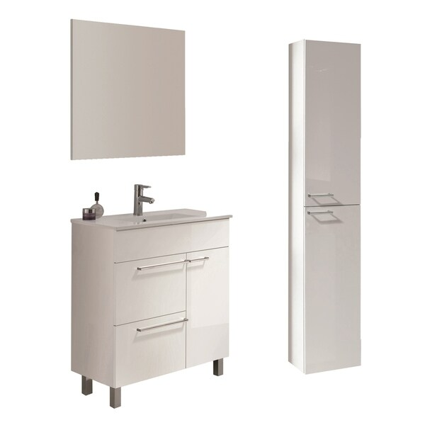Confort Vanity and Kyra Sink