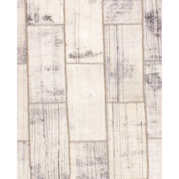 """Pasargad DC Persian Patch-Work Decorative Hand-Knotted Area Rug - 5'9"""" x 6'8"""""""