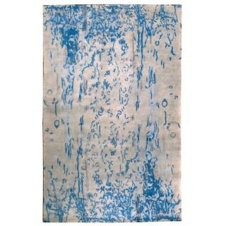 Wool Nepal Rug (6' x 9'4'') - 6' x 9'4''