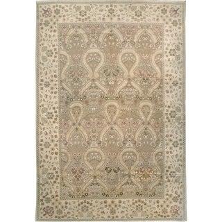 Wool Embossed Rug (9'7'' x 14'1'') - 9'7'' x 14'1''