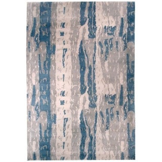 Wool and Silk Nepal Rug - 6'0'' x 8'11''