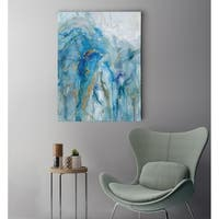 Abstract Lapis - Premium Gallery Wrapped Canvas