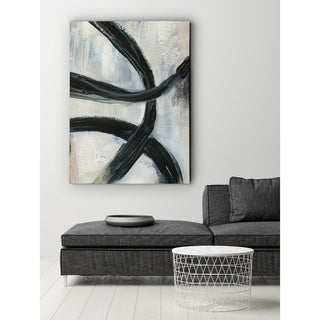 Abstract Rings II - Premium Gallery Wrapped Canvas
