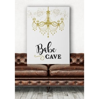 Babe Cave - Premium Gallery Wrapped Canvas