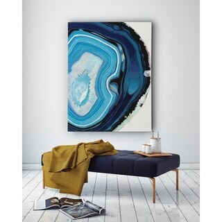 Agate Studies I - Premium Gallery Wrapped Canvas