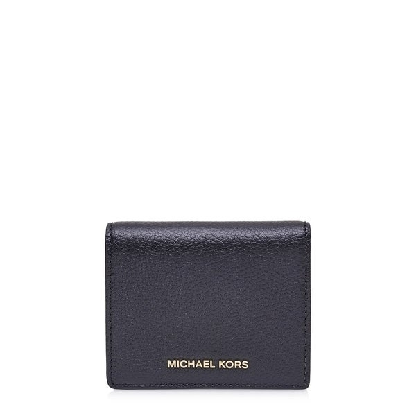 854ea2666860 Shop MICHAEL Michael Kors Mercer Flap Admiral Blue Card Holder ...