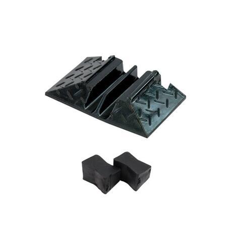 Pyle PCBL103ENDCP02 Cable Ramp End Caps Finish Pieces For Pyle Model PCBLCO103