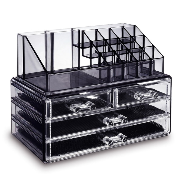 Shop Ikee Design Jewelry and Makeup Organizer Clear Diamond