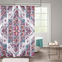 510 Design Emmi Printed Shower Curtain