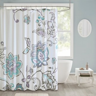 510 Design Gratia Printed Shower Curtain (2 options available)