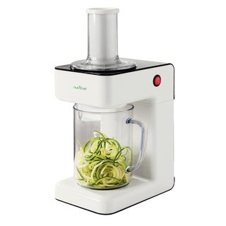 Electric Food Spiralizer -3-in-1 Food Processor,Salad Shooter,Shredder