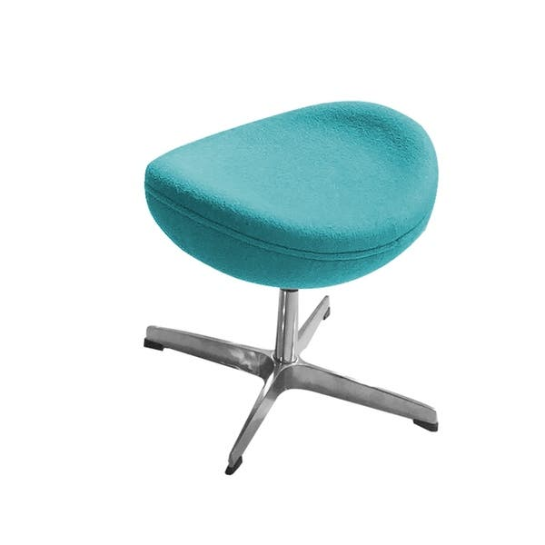 Awesome Shop Ottoman For Swan Chair Cashmere Free Shipping Today Lamtechconsult Wood Chair Design Ideas Lamtechconsultcom