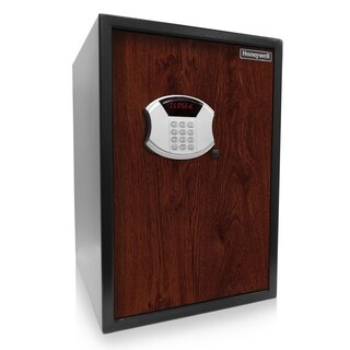 Honeywell Digital Safe w/Depository Slot and Faux Wood Door