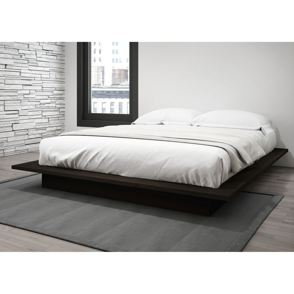 Stellar Home Furniture Queen Platform Bed In Dark Espresso