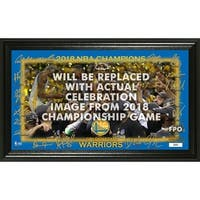 Golden State Warriors 2018 NBA Finals Champions Celebration Signature Court - Multi-color