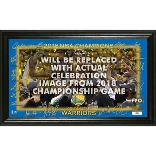 Golden State Warriors 2018 NBA Finals Champions Celebration Signature Court - Multi-color