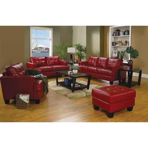 Samuel Transitional 3-piece Living Room Set