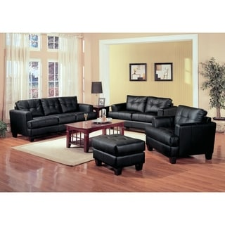Samuel Transitional 3-piece Living Room Set - N/A