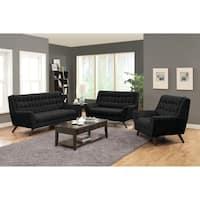 Natalia Mid-century Modern 3-piece Living Room Set