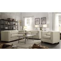 Cairns Transitional 3-piece Living Room Set