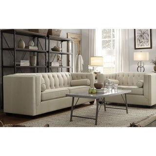 Cairns Transitional 2-piece Living Room Set