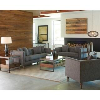Ellery Grey 3-piece Living Room Set