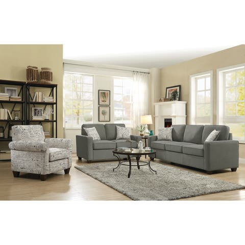 Buy Fabric Living Room Furniture Sets Online At Overstock
