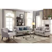Gideon Transitional 2-piece Living Room Set