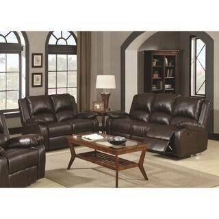 Boston Brown 2-piece Reclining Living Room Set