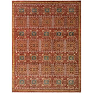 Kafkaz Peshawar Wes Red/Rust Wool Rug (8'0 x 10'3) - 8 ft. 0 in. x 10 ft. 3 in.