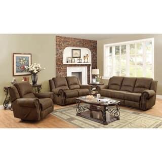 Microfiber Living Room Furniture Sets For Less | Overstock