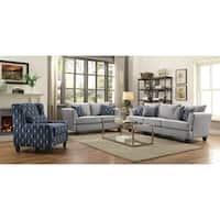 Hallstatt Casual Grey 3-piece Living Room Set