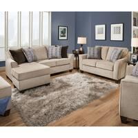 Simmons Upholstery Alamo Taupe Sectional
