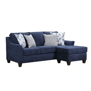 Simmons Upholstery Prelude Navy Sectional