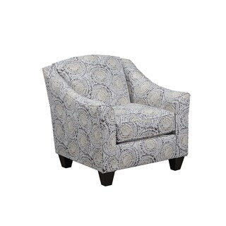 Simmons Upholstery Mosaic Antique Accent Chair