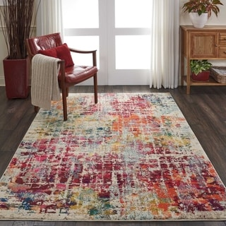 Nourison Celestial CES13 Abstract Area Rug