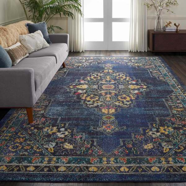 Nourison Passionate Traditional Medallion Area Rug