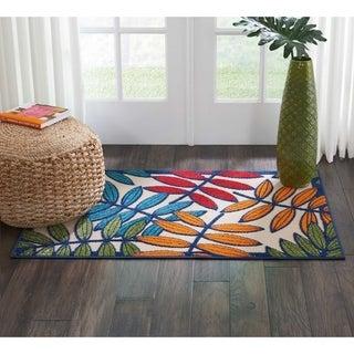Nourison Aloha Multicolor Indoor/Outdoor Rug - 2'8 x 4'
