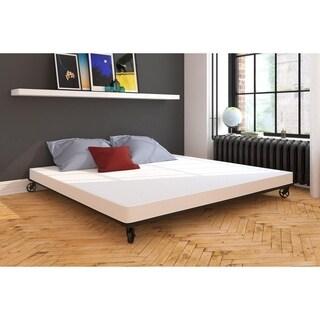 Avenue Greene White 4-inch Gel Infused King Memory Foam Mattress