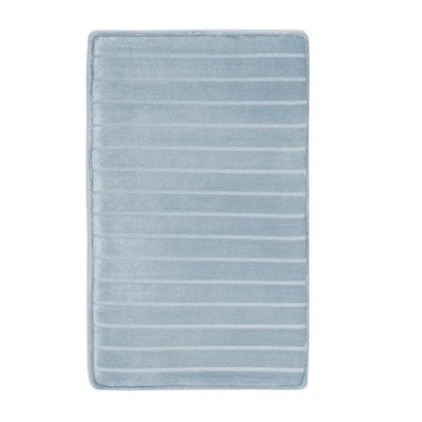 Shop Microdry Softlux Memory Foam Bath Rug With Charcoal